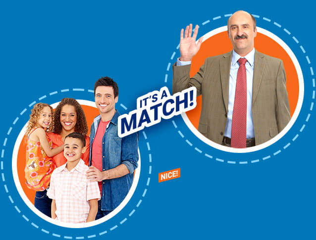 Match with an independent insurance agent